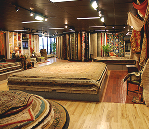 Sergenian's showroom in Madison, WI