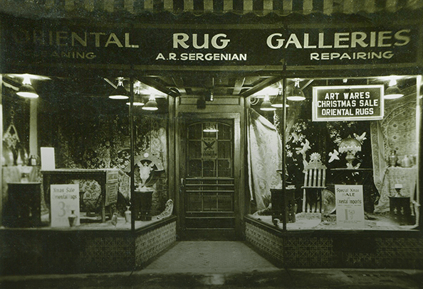 Sergenian's first store in downtown Madison, WI